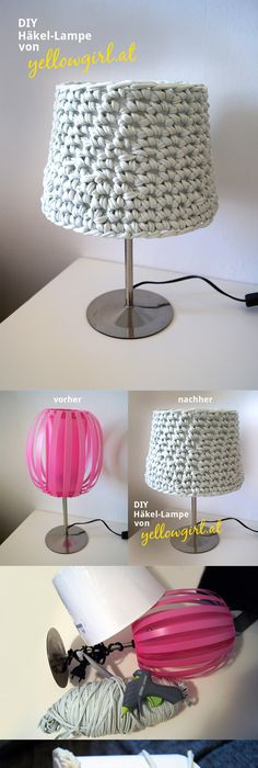 Manualidades para la casa lámparas de crochet, las más originales