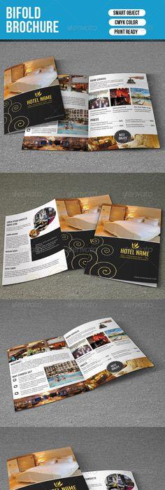Hotel Trifold Brochure 5 | Tourismus, Grafikdesign und Grafiken