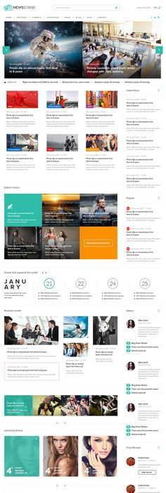 Spectr  Responsive News And Magazine Template  Newspaper