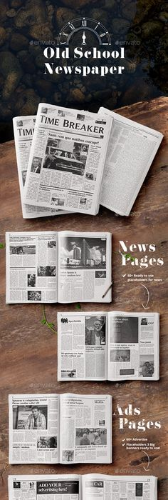Best Print Newspaper Templates in Adobe InDesign \ Photoshop - new 8 capability statement template