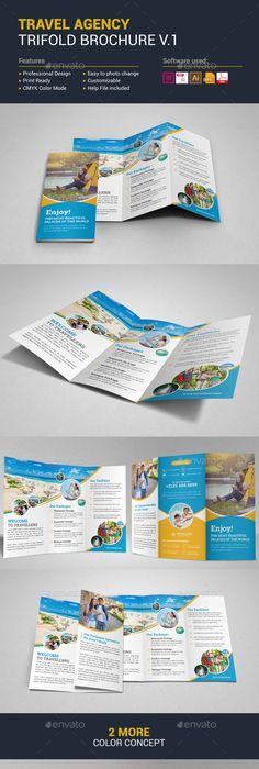 Preschool Kids  Day Care  Brochure Template  Ideas