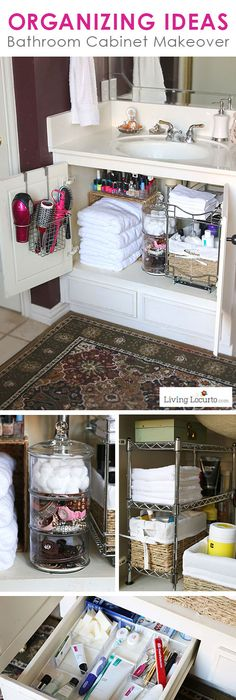Great Organizing Ideas For Your Bathroom Cabinet Organization Makeover