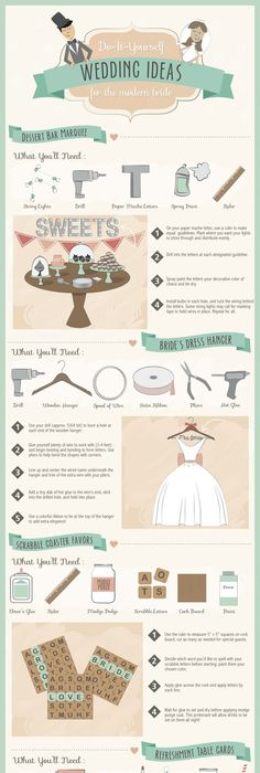 Best wedding planning advice from the pros wedding planning do it yourself wedding ideas do it yourself wedding ideas for the modern solutioingenieria Image collections