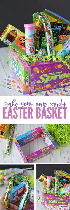 Smore easter peeps treats recipe easter peeps fun diy and diy candy easter basket an easy and creative way to make a fun easter basket negle Choice Image