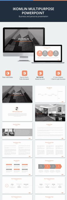 Simple cool powerpoint template template presentation templates buy multipurpose powerpoint template by azindustry on graphicriver get a clean modern and efficient powerpoint presentation toneelgroepblik Image collections