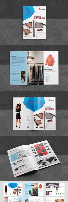 Product Promotion Catalog Template Indesign Indd Catalog Templates