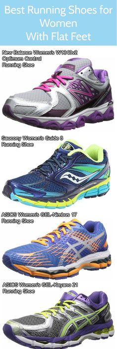 Best running shoes for flat feet for women in 2015