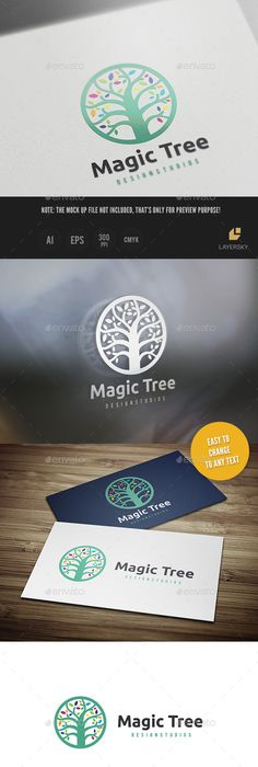 E cubical logo letter logo logo templates and logos magic tree logo design template vector logotype download it here http thecheapjerseys Gallery