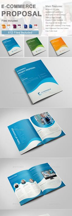 Business proposal indesign template business proposal indesign e commerce business proposal accmission Image collections