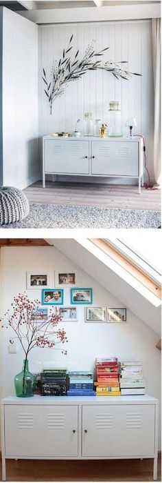 Living Room Storage Solutions: IKEA PS Locker Cabinet  Here Is Some  Inspiration From @