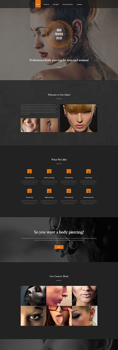 Videographer Responsive Website Template | Template, Website and ...