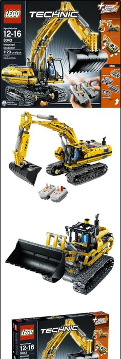 LEGO TECHNIC Container Truck 8052, LEGO TECHNIC 8052 CONTAINER TRUCK ...