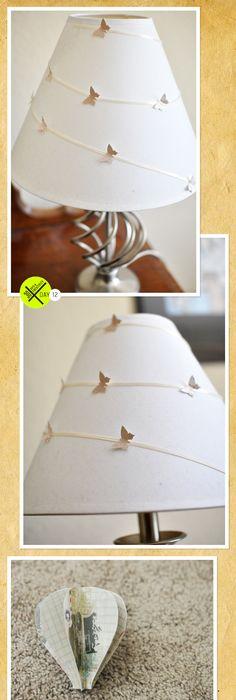 Un Eclairage Moderne Colore Butterfly Lampe De Decoration Mariage Bureau Poterie Anniversaire Accent