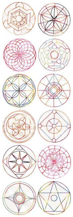 Un concours de g om trie permettant de tester les comp tences des l ves de cm1 et cm2 - Mandalas cycle 3 ...