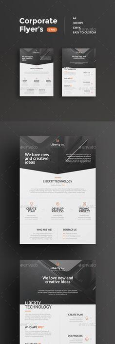 Simply Flyer Template Design  Web Design Ideas