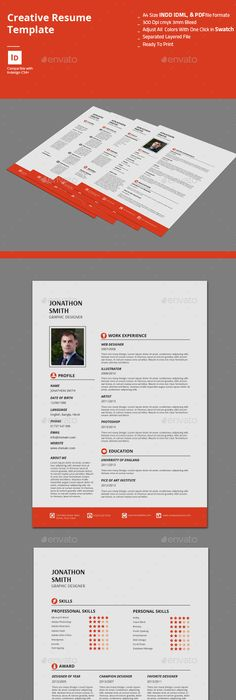 Quad Resume Template Get It At HttpsWwwResumesCom
