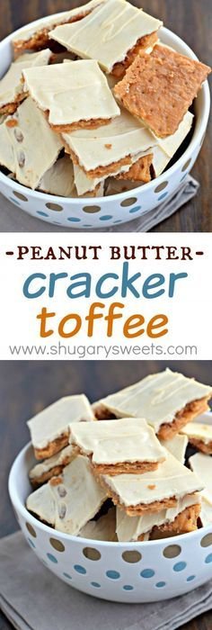 Paula deen saltine cracker candy call it cracker candy you can peanut butter cracker toffee use gluten free crackers for gf version so simple to make yet melt in your mouth delicious this easy toffee recipe is made solutioingenieria Images