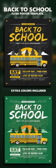 Back To School Party  School Parties Party Flyer And Flyer Template