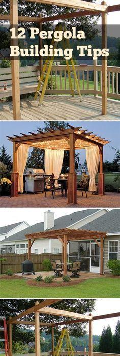 24 cozy backyard patio ideas backyard renovations pergolas and 12 pergola building tips solutioingenieria Choice Image