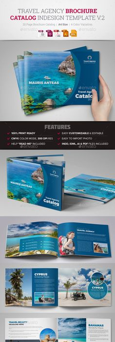 Travel Brochure Examples With Enticing Designs  Brochures