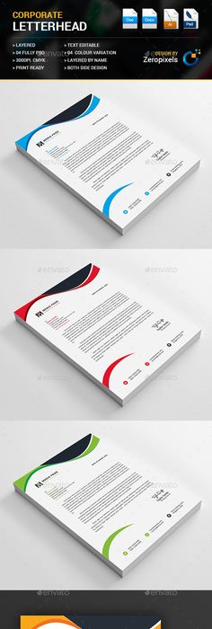 Letterhead templatedesign devisers a4 us paper size with bleeds letterhead psd template landscape company download httpsgraphicriver spiritdancerdesigns Gallery
