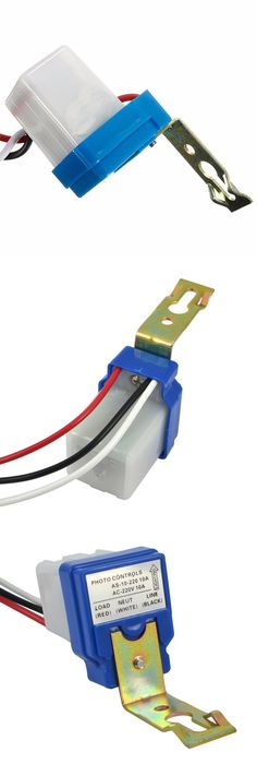 SNR-100W Photocell Sensor Light Switch For Outdoor Lamps Dusk and Dawn - new blueprint digital timer 240v