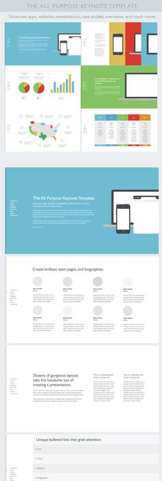 Pitch Deck Template  Business Keynote Templates  Free Sample