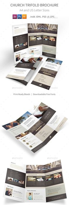 Check Out This Behance Project A Bi Fold Brochure Mockup