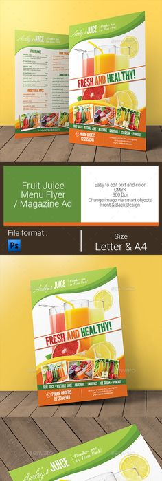 Modern Food Flyer Template  Modern Food Flyer Template And Template