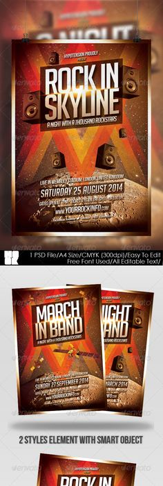 Summer Flyerposter Summer Flyer Template And Party Flyer