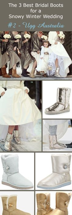 Editor\'s Pick - The 3 Best Bridal Boots for a Snowy Winter Wedding ...