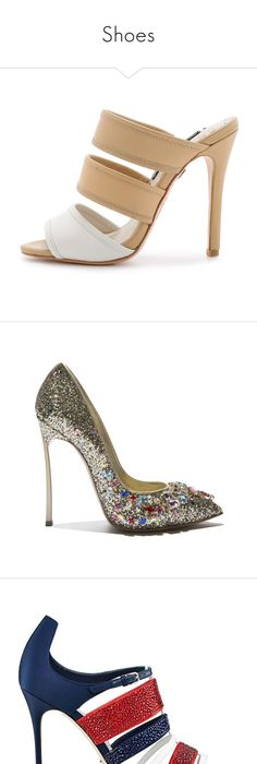 09570ccbb91 Glitter Pointy Toe Stiletto Heel Pump(the size is smaller) ( 41) ❤ liked on Polyvore  featuring shoes