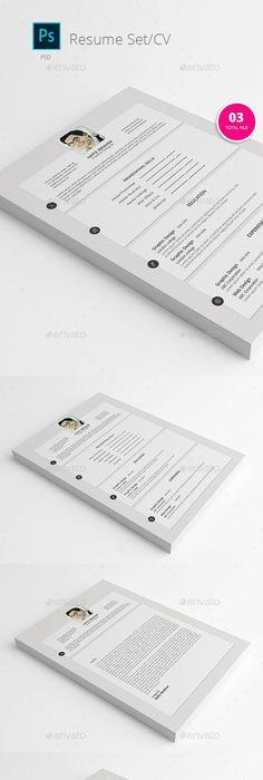 Lite Clean Modern Resume Template Modern Resume Modern Resume