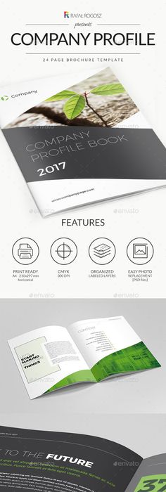 Company Profile  Photoshop Psd Brochure  Download  Https