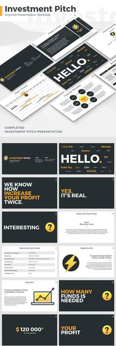 Company Profile Keynote Template Download Here Http