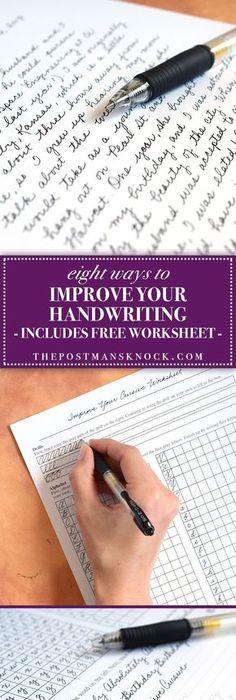 How I Practice My Handwriting The Spencerian Method Penmanship
