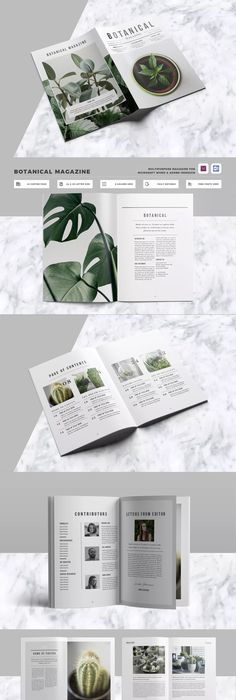 Magazine Template Vol.02 | Brochures, Template and Magazines