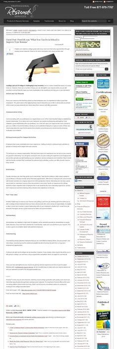 Advertising Internship Resume Template (resumecompanion.com ...
