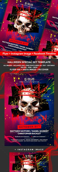 Halloween Flyer Flyer Template Template And Event Flyers