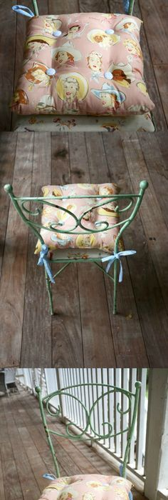 Get A Tutorial For A Simple DIY Chair Cushion With Ties   Yes, Itu0027s So