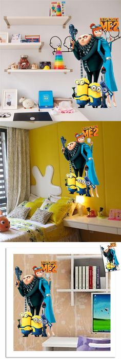 Despicable Me: Minions inspired Wall Stickers | Minions | Pinterest ...