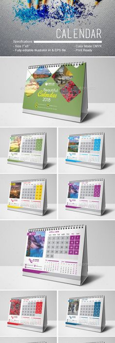 Corporate Desk Calendar  V  Calendar Design And Brochures