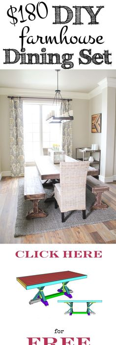 DIY Benches For My Dining Table