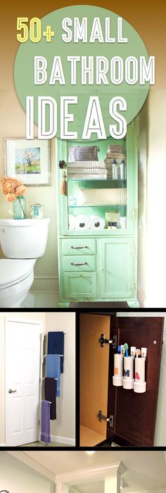 50+ Small Bathroom Ideas That You Can Use To Maximize The Available Storage  Space