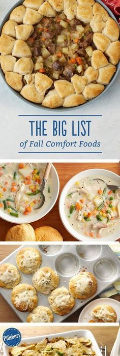 international food food and recipes the big list of fall comfort foods forumfinder Choice Image