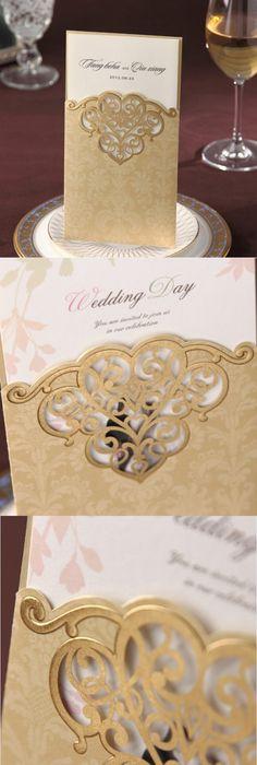 summer blossom laser cut wedding invites EFWS024 Laser cut wedding - fresh invitation box