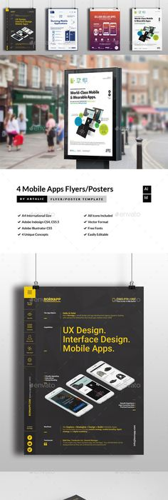 Design WebAppGraphic Services FlyerPoster  Design Web