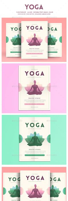 Yoga class event flyer poster template fitness events yoga flyer stopboris Image collections