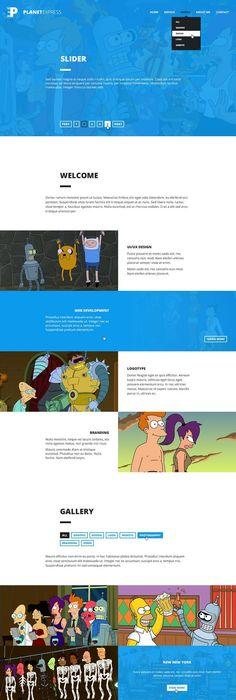 10 freie Photoshop (PSD) Website Templates » Frisch Inspiriert - interactive website template