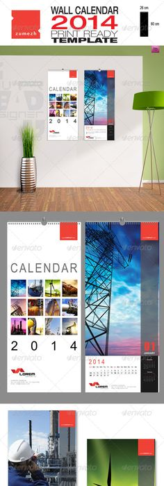 Corporate Business Wall Calendar  V  Calendar